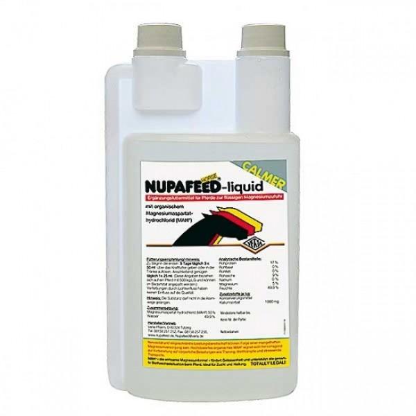 Nupafeed liquid 1,0-ltr-Dosierflasche
